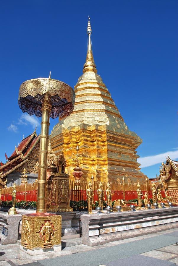 Phra esse templo do doisuthep fotos de stock