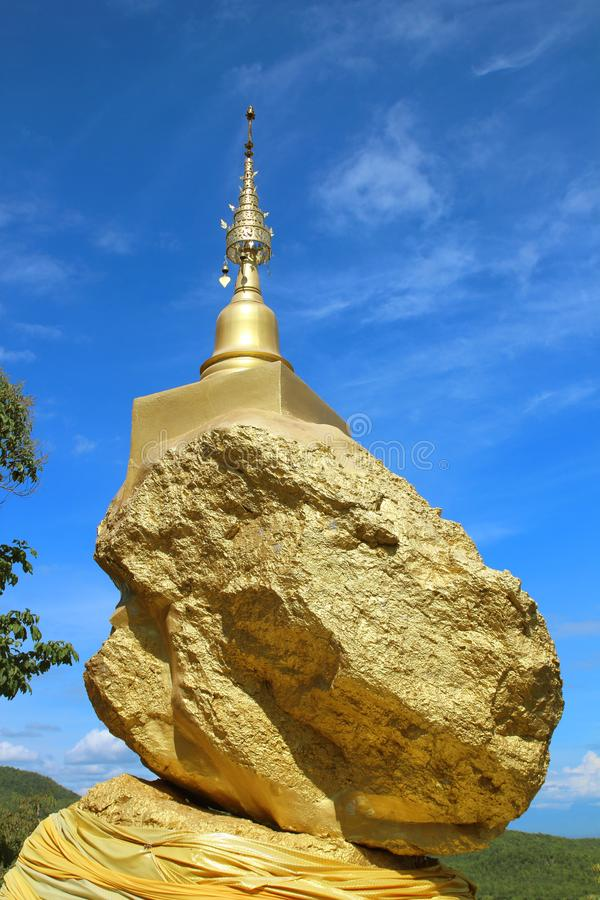 Phra that in hung at lamphun thailand.  royalty free stock photography