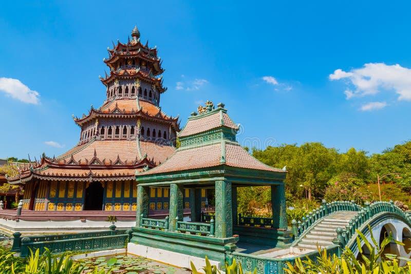 Phra Kaew paviljong i Thailand fotografering för bildbyråer