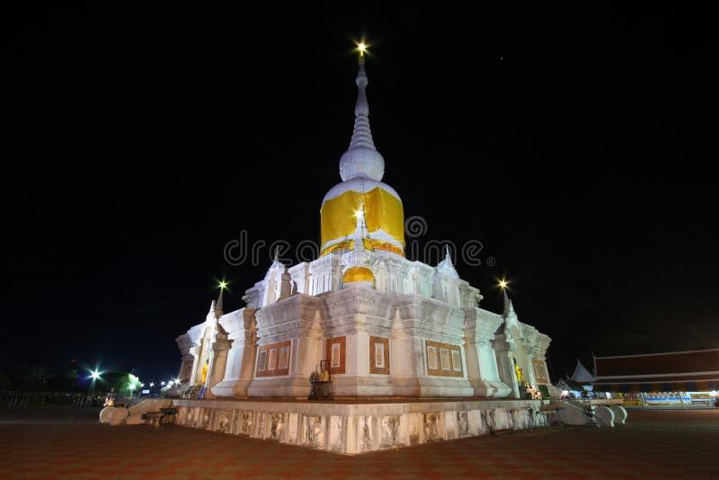 Phra Który Nadoon świątynia, Maha Sarakham Tajlandia obrazy royalty free
