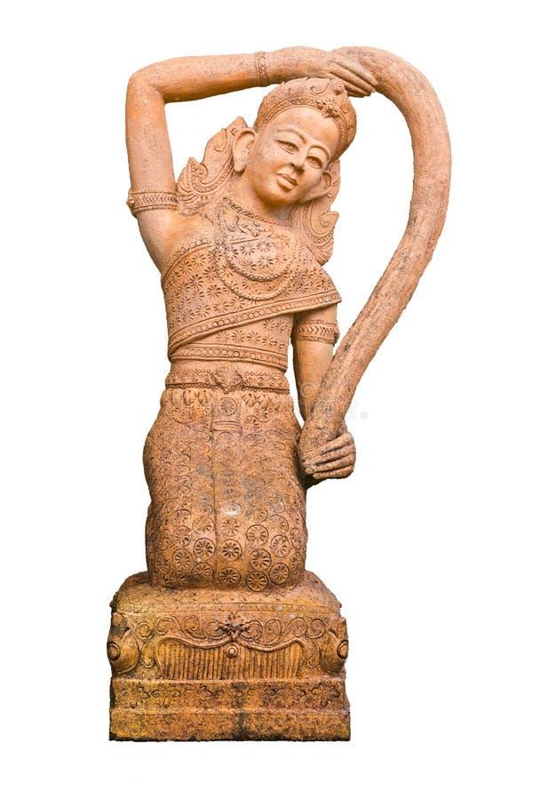 Phra Mae Thorani lizenzfreie stockfotos