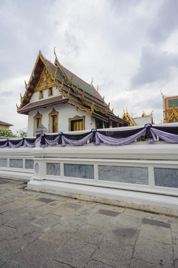 Phra Maha Montian at the Grand Palace stock photos