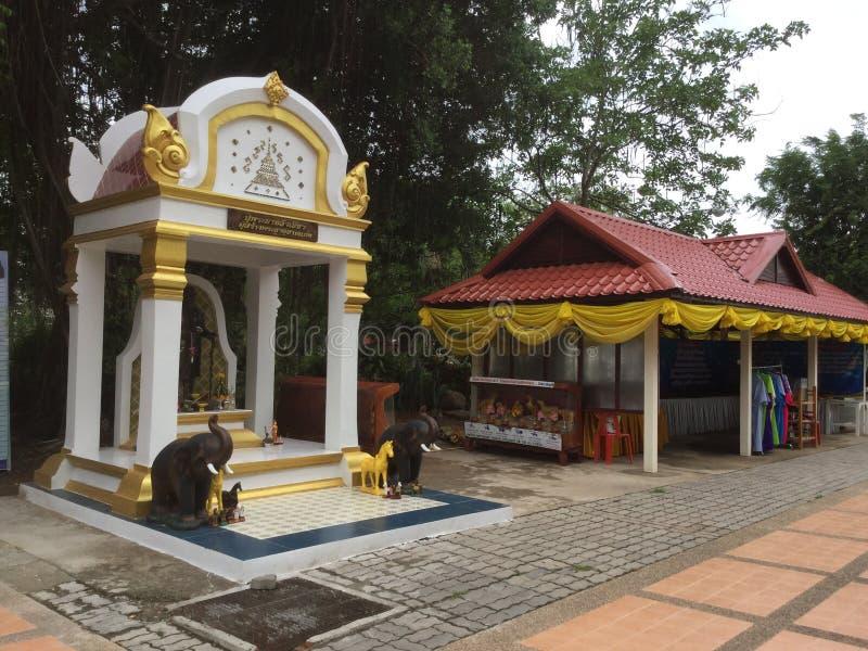 Phra Mahathat Kaen Nakhon arkivbilder