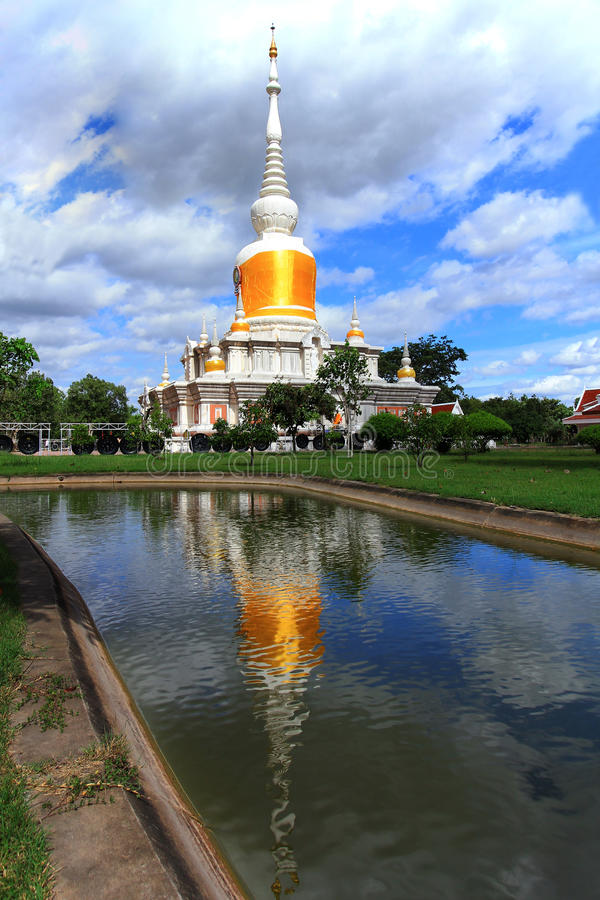 Download Phra That Na Dun stock image. Image of oriental, asian - 26537273