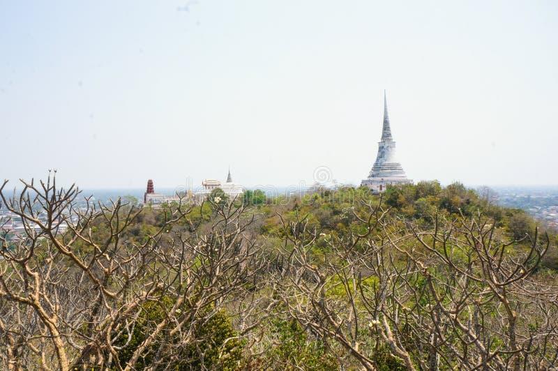 PHRA NA KHON KHI RI历史公园(Khao Wang), Amphoe Muang 库存照片