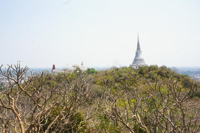 PHRA NA KHON KHI RI DZIEJOWY park, Amphoe Muang (Khao Wang) zdjęcie stock