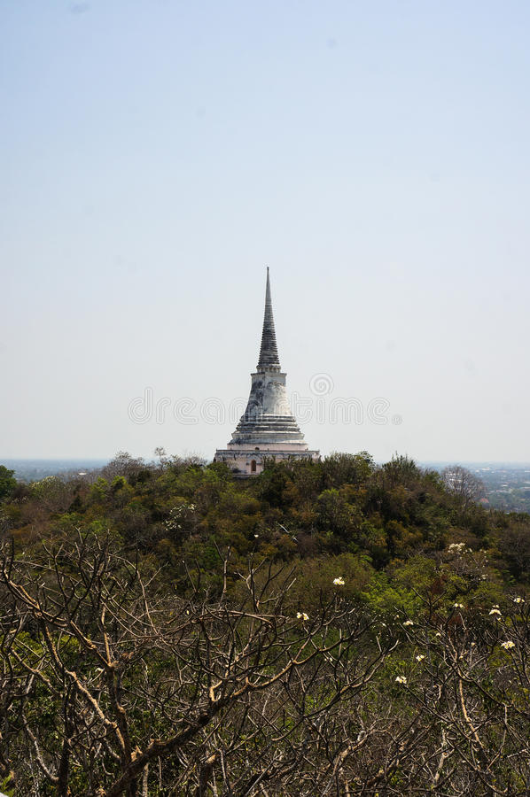 PHRA NA KHON KHI RI HISTORICAL PARK (Khao Wang) , Amphoe Muang. Phet Buri, Thailand royalty free stock photos