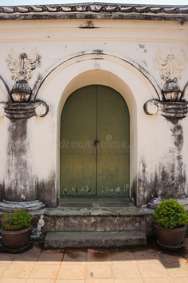 PHRA NA KHON KHI RI HISTORICAL PARK (Khao Wang) , Amphoe Muang. Phet Buri, Thailand royalty free stock photography
