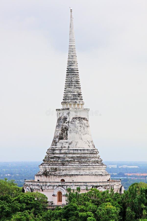 Phra Nakhon historiska Khiri parkerar, Phetchaburi, Thailand arkivbilder