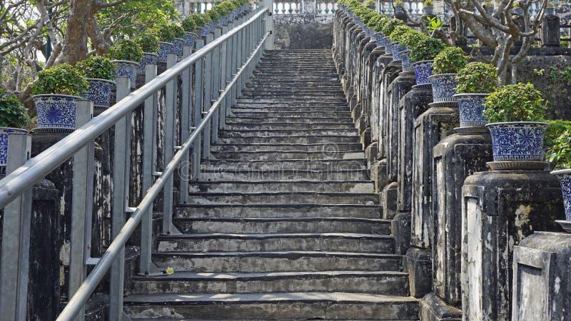 Phra Nakon Kiri寺庙复合体在泰国 免版税库存图片