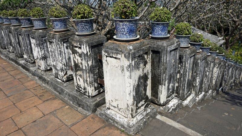 Phra Nakon Kiri寺庙复合体在泰国 免版税图库摄影