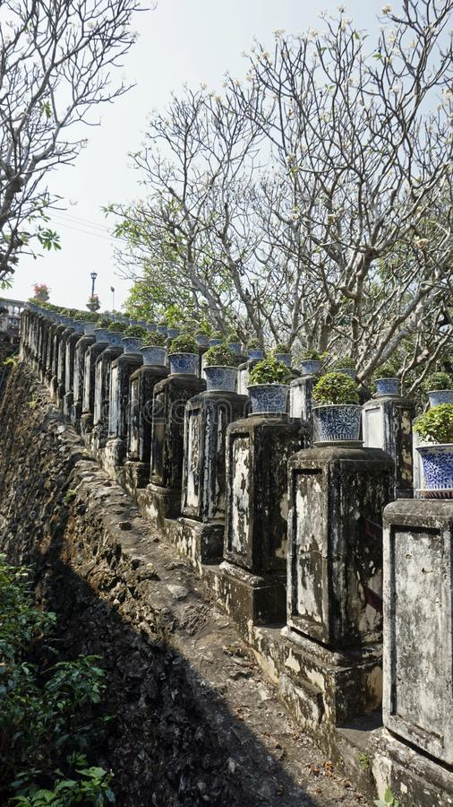 Phra Nakon Kiri Temple Complex em Tailândia fotografia de stock