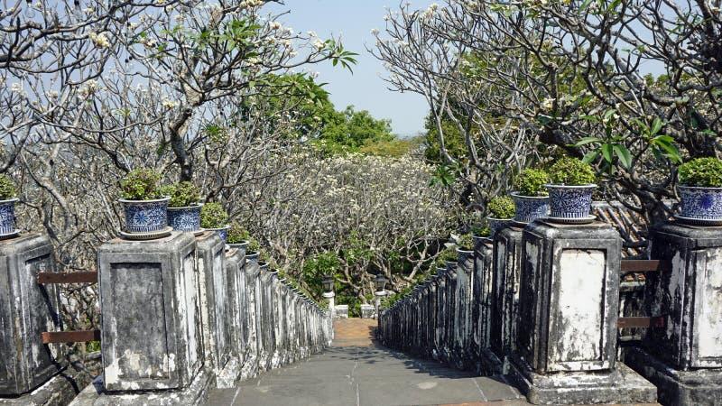 Phra Nakon Kiri Temple Complex em Tailândia foto de stock royalty free