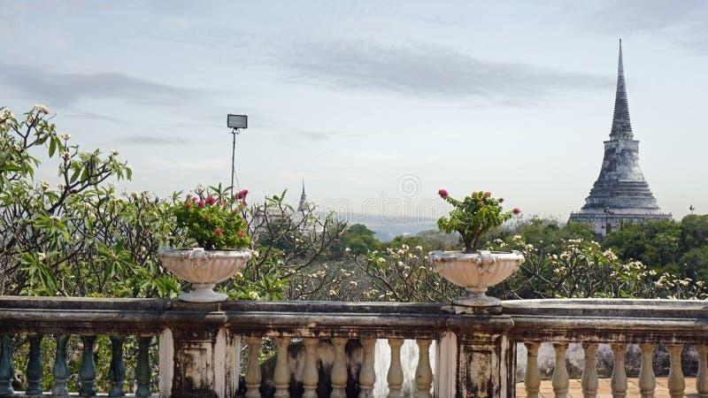 Phra Nakon Kiri Temple Complex em Tailândia fotografia de stock royalty free