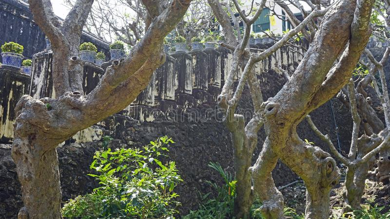 Phra Nakon Kiri Temple Complex em Tailândia fotos de stock royalty free
