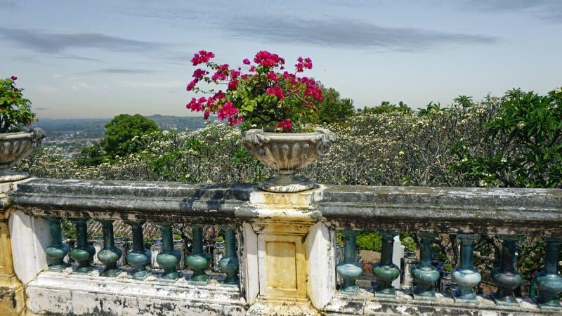 Phra Nakon Kiri Temple Complex em Tailândia foto de stock