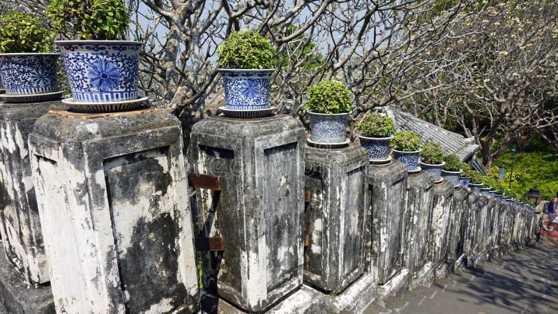 Phra Nakon Kiri Temple Complex en Tailandia fotos de archivo