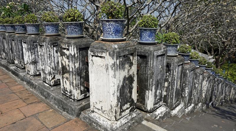 Phra Nakon Kiri Temple Complex en Tailandia foto de archivo libre de regalías
