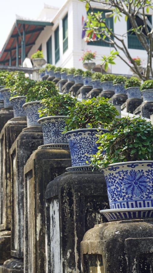 Phra Nakon Kiri Temple Complex i Thailand royaltyfria foton