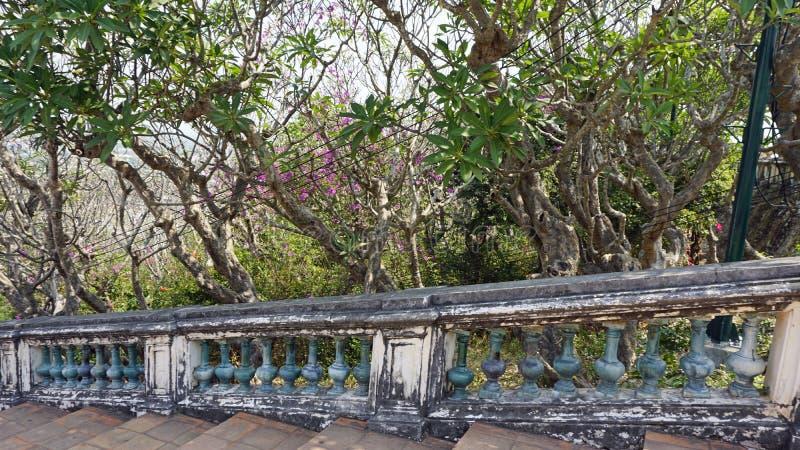 Phra Nakon Kiri Temple Complex i Thailand fotografering för bildbyråer