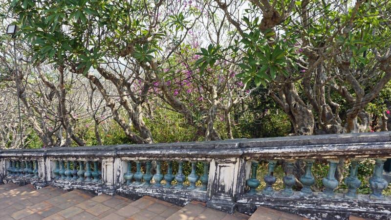 Phra Nakon Kiri Temple Complex i Thailand arkivfoton