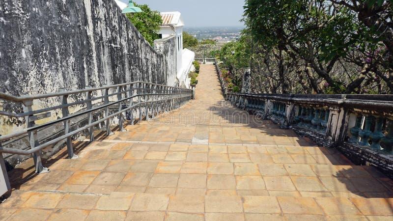 Phra Nakon Kiri Temple Complex i Thailand royaltyfria bilder
