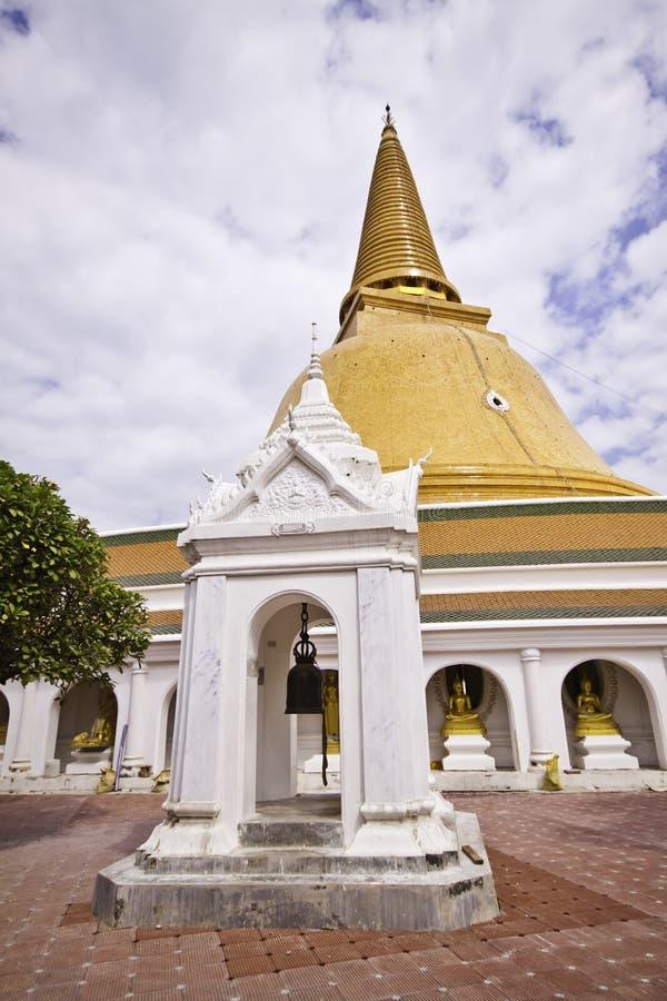 Phra Pathom Chedi foto de stock