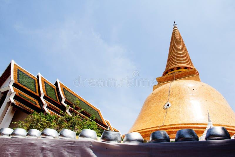 Phra Pathom Chedi image stock