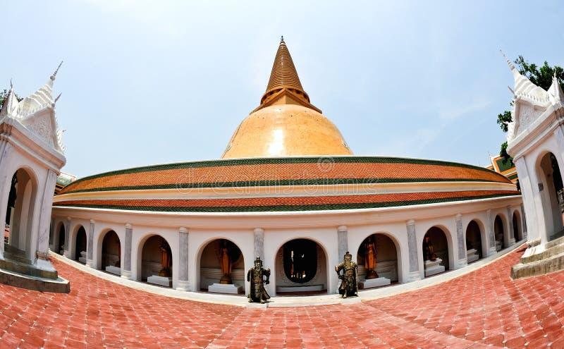 Download Phra Pathom Chedi stock image. Image of buddha, stone - 25645467