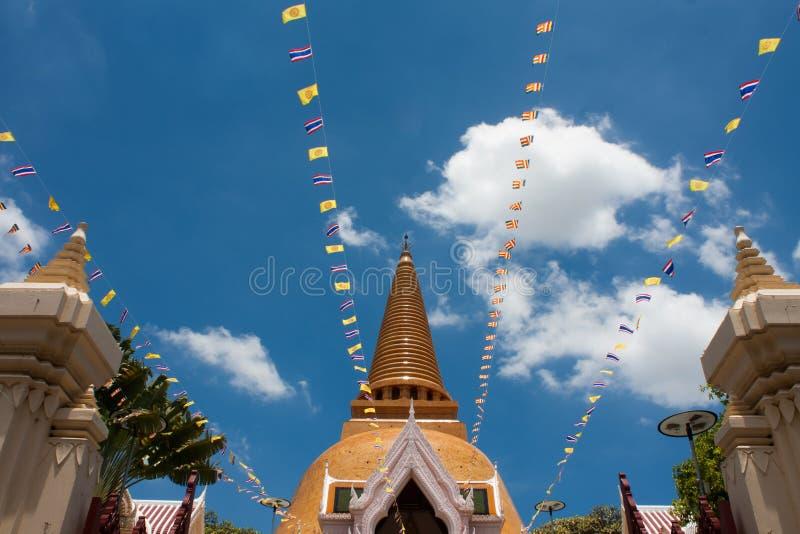 Phra Pathom Chedi zdjęcia royalty free