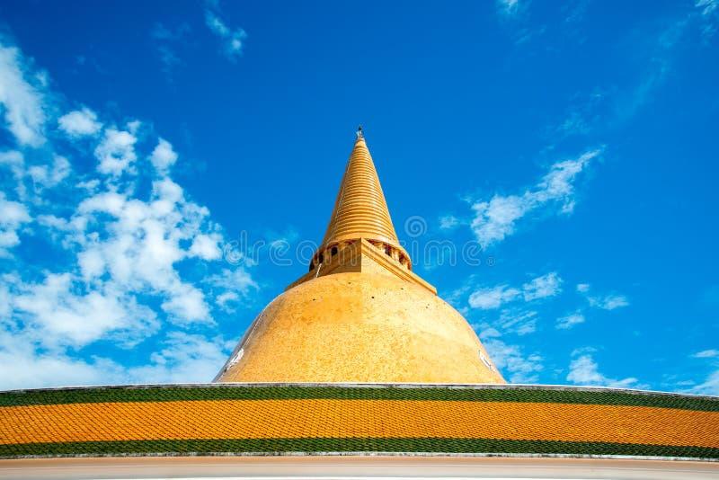 Phra Pathom Chedi fotografia stock