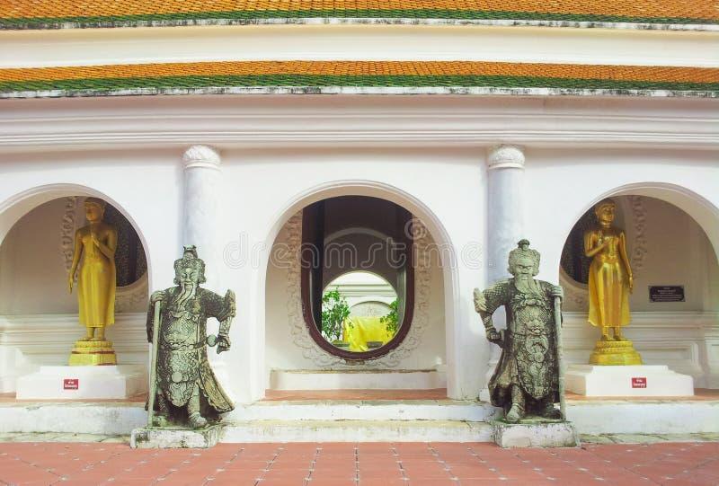 Phra Pathom Chedi (area) stock image