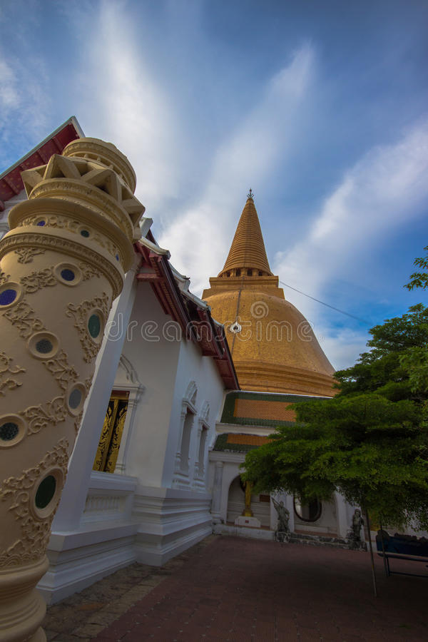 Phra Pathom Chedi royalty free stock photo