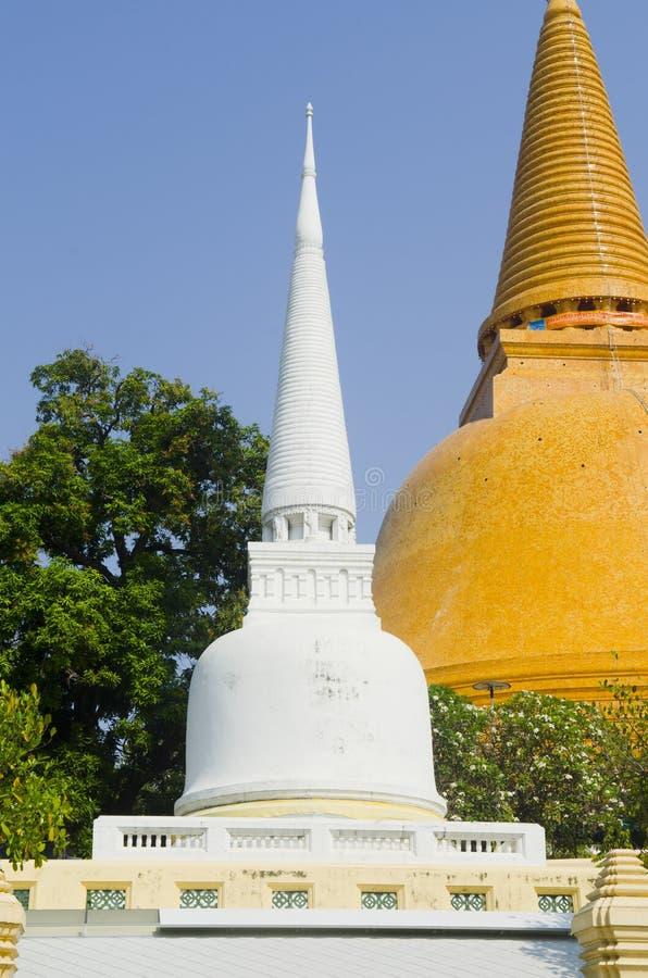 Phra Pathom Chedi, o stupa o mais alto no mundo foto de stock royalty free