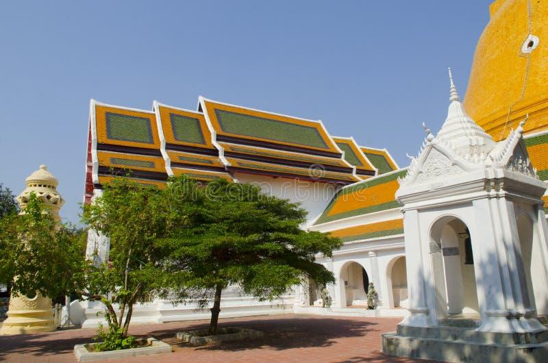 Phra Pathom Chedi, o stupa o mais alto no mundo imagem de stock royalty free