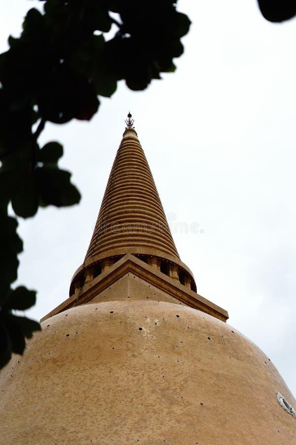 Phra Pathom Chedi stor pagod, Nakhon Pathom landskap, Thailand royaltyfri fotografi