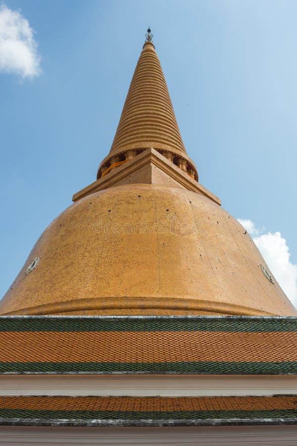 Phra Pathom pagod arkivbilder