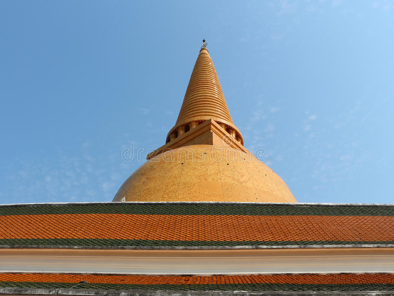 Phra Pathommachedi arkivbilder