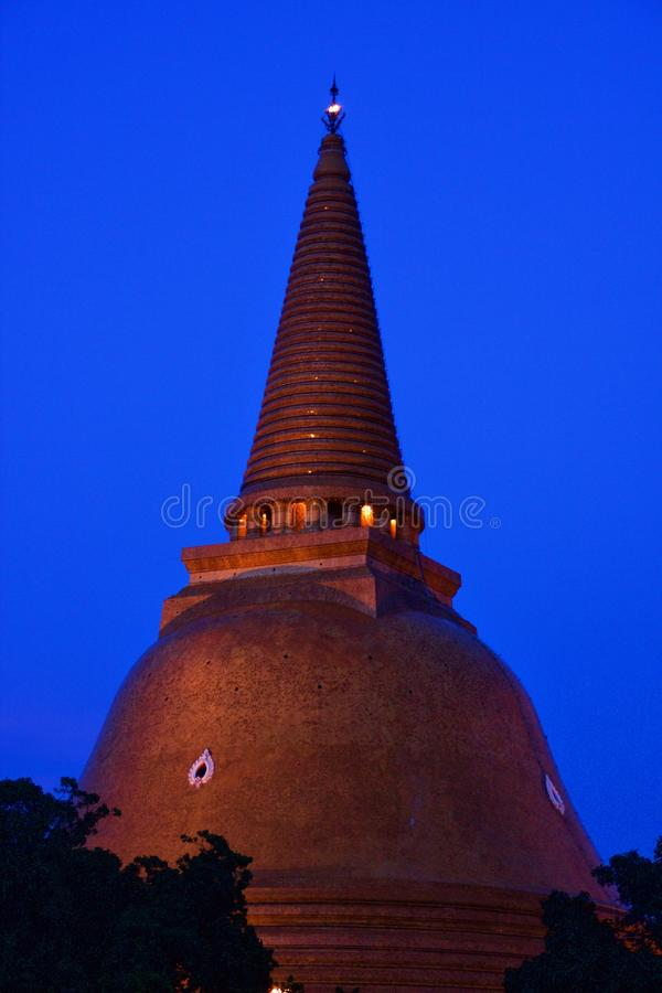 Phra Pathommachedi fotos de stock royalty free
