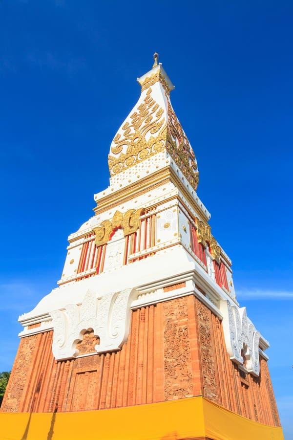 Phra That Phanom chedi in Wat Phra That Phanom, Nakhon Phanom pr. Ovince, Thailand royalty free stock photos