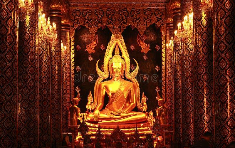 Phra phuttha chinnarat 免版税图库摄影