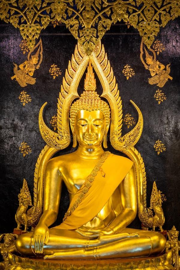 Phra Phuttha Chinnarat, Thaise oude erfenis en beschouwd als één van het mooiste die cijfer van Boedha in Thailand, in Wat wordt  stock afbeeldingen