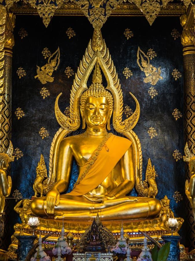 Phra Phuttha Chinnarath, statue célèbre de Bouddha photographie stock libre de droits