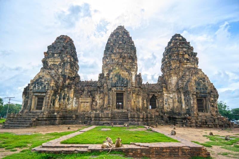 Phra Prang Sam Yot fotos de archivo