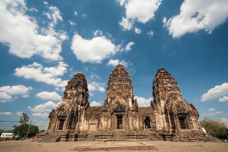 Phra Prang Sam Yot Public fotografía de archivo