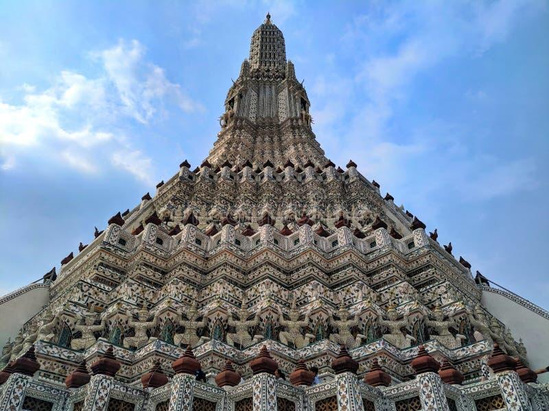 Phra Prang Wat Arun fotografía de archivo libre de regalías
