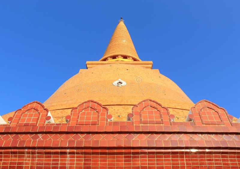 Phra Prathom Jedi. The big Pagoda of Thailand royalty free stock photos