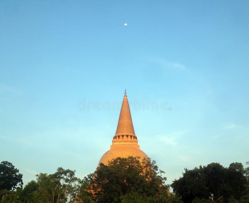 PHRA PRATHOM JEDI, The biggest Pagoda in Thailand,.  royalty free stock photography