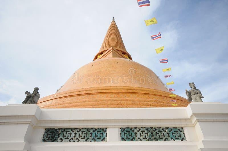 PHRA PRATHOM JEDI, Thailand. PHRA PRATHOM JEDI, The biggest Pagoda of Thailand stock photos