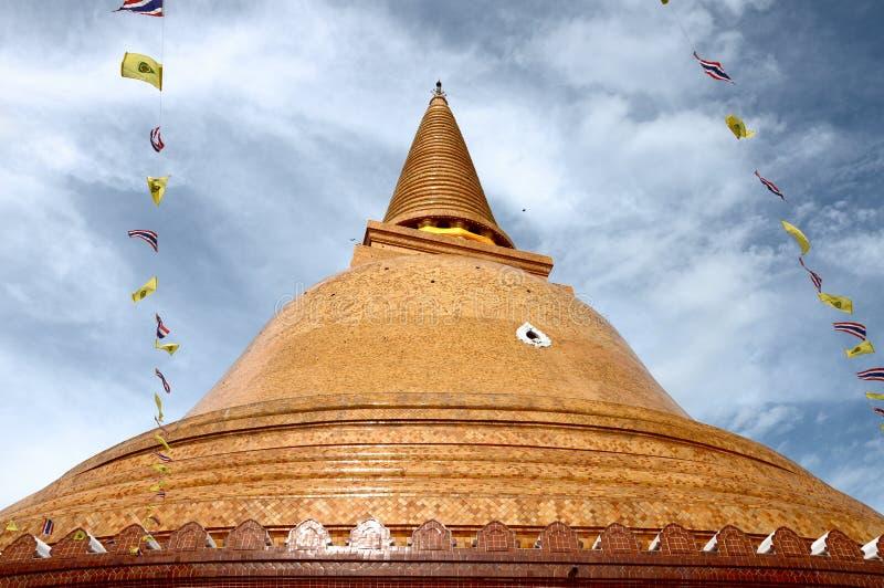 PHRA PRATHOM JEDI, Thailand. PHRA PRATHOM JEDI, The biggest Pagoda of Thailand stock images
